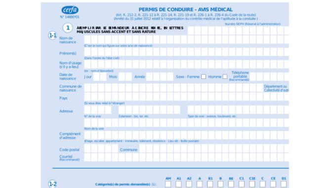 Visite Medicale Du Permis De Conduire